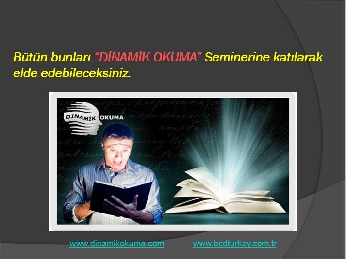 bcdturkey dinamik okuma tanıtım 3 Dinamik Hızlı Okuma