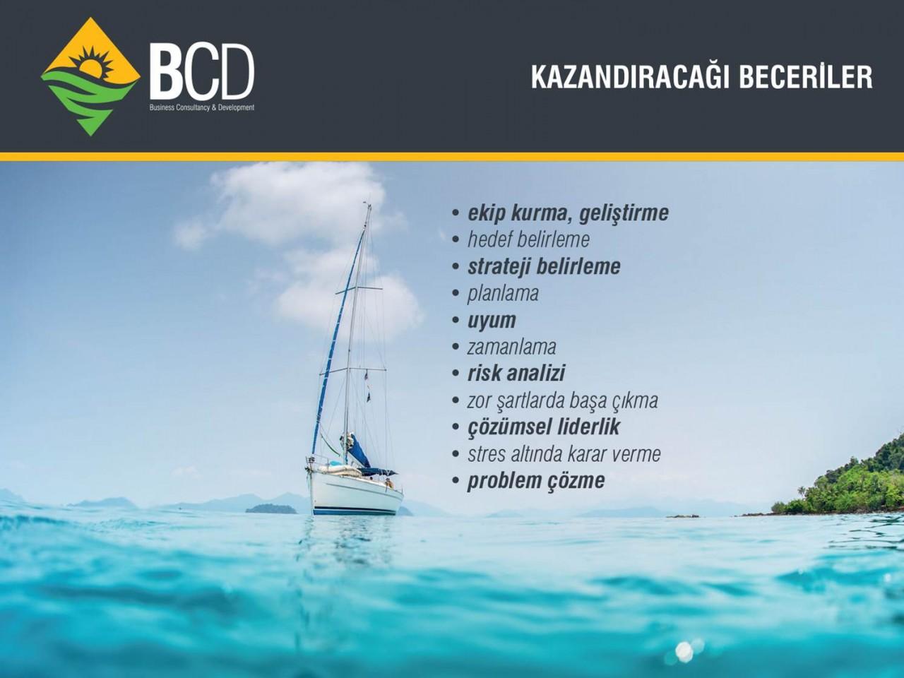 bcdturkey yelken liderlik takim ruhu 5 Yelkenli Tekne ile Liderlik ve Takım Ruhu Eğitimi